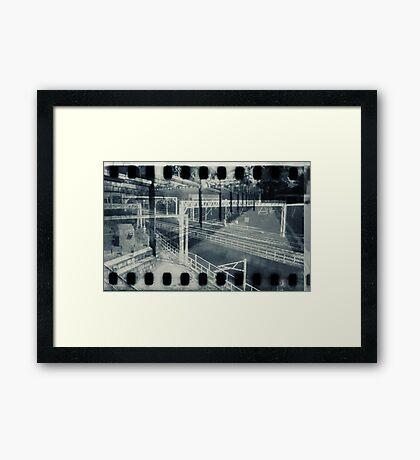 for pilgrim Framed Print