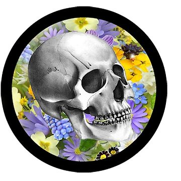 Floral Skull vers. 3 by queen-victoria