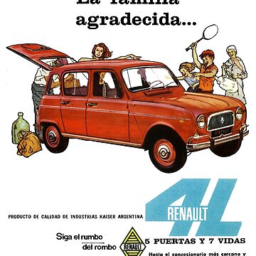 RENAULT 4 by ThrowbackMotors