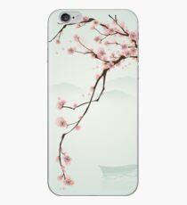 Wunderlicher rosa Kirschblüten-Baum iPhone-Hülle & Cover