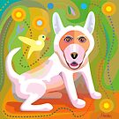 White Dog by Charles Harker