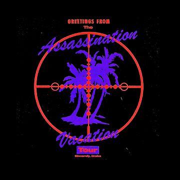 Drake Assassination Vacation Tour Logo by eightyeightjoe