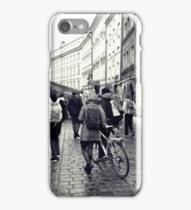 Daily life in Prague iPhone Case/Skin
