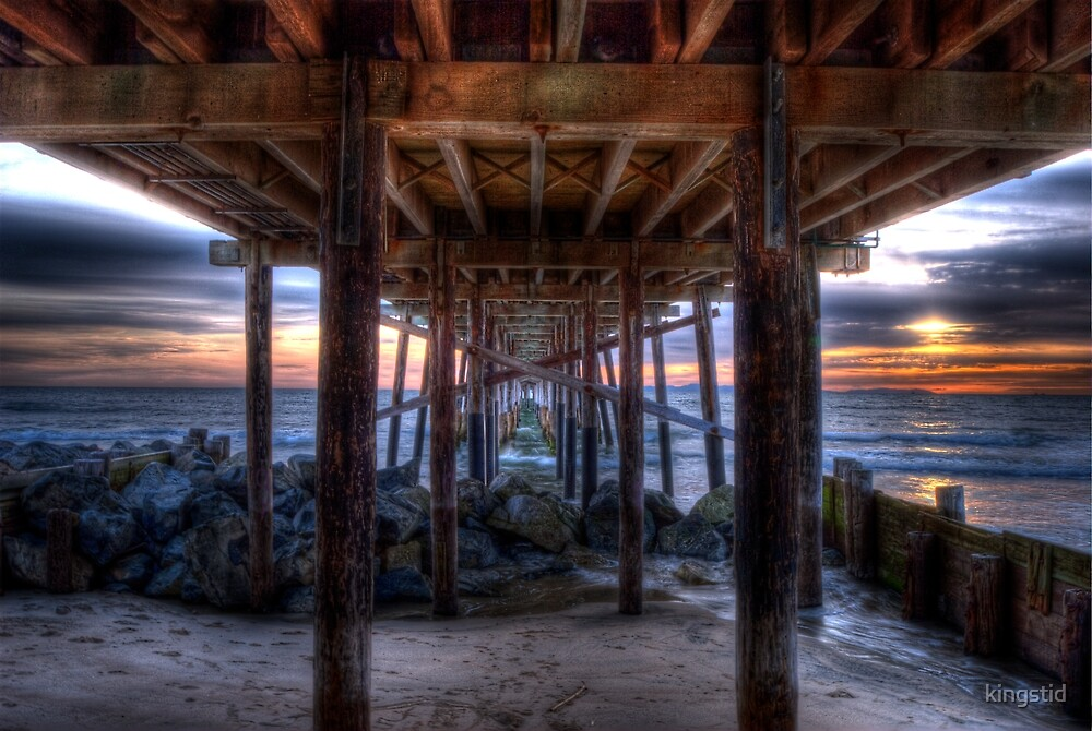 Pier at Newport Beach, Ca by kingstid