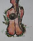 Island Woman, with the spiral of femininity by eoconnor