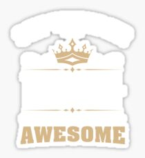 September 1944 75 Years Of Being Awesome Sticker
