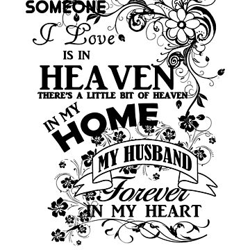 Husband Heaven Forever In My Heart by jzelazny