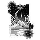 Moon Tarot by jordannelefae
