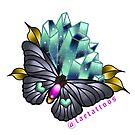 Crystal butterfly by jordannelefae
