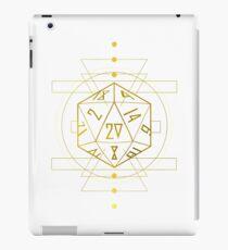 Critically Geometric- Gold iPad Case/Skin