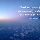 Darkness cannot drive out the darkness by LifeisDelicious