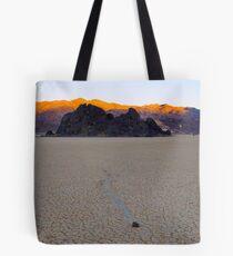 Dawn on the Race Track Playa Tote Bag