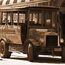 Motor Museum Bus by Eve Parry