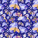 Moths and night butterflies by PenguinHouse