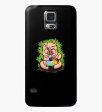 Stoned Pig who Loves to Smoke Weed Case/Skin for Samsung Galaxy