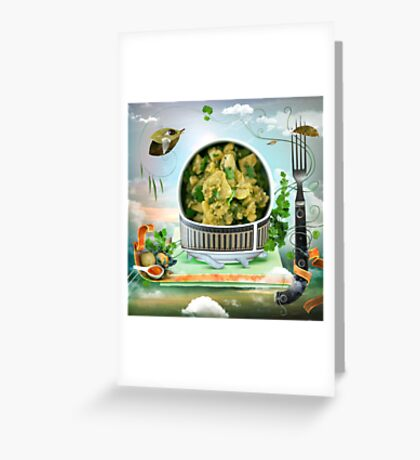 Aloo Gobi Greeting Card