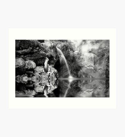 Natures Bride Art Print