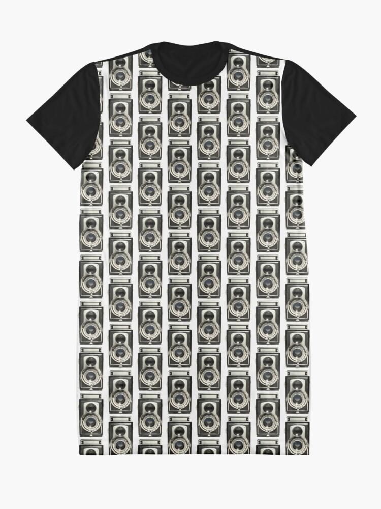 Alternative Ansicht von Retro-Kamera T-Shirt Kleid