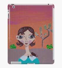 ~ Rhino Beetle ~10 Year Old Amelia's Arizona Critter Girl iPad Case/Skin