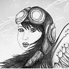 Angel Flight One - Preparing for Takeoff by Rhana Griffin