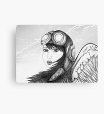 Angel Flight One - Preparing for Takeoff Canvas Print