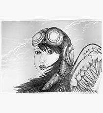 Angel Flight One - Preparing for Takeoff Poster