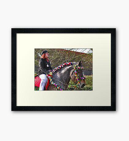 Straô rider Framed Print