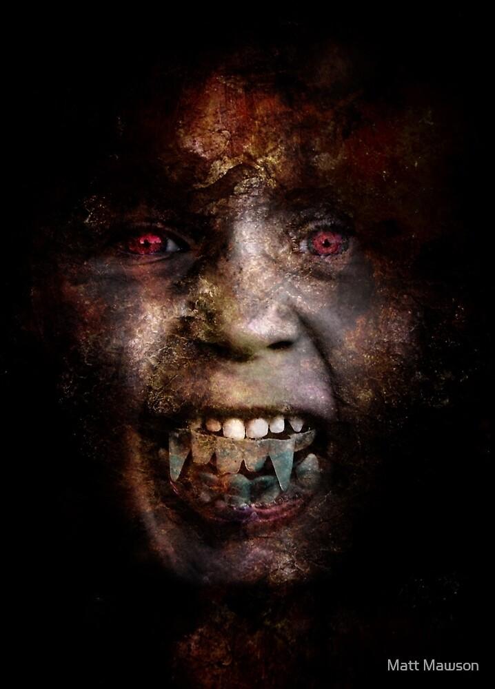 Zombie wants to be a vampire by Matt Mawson