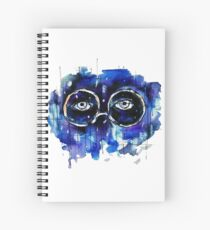 Valley of Ashes Spiral Notebook