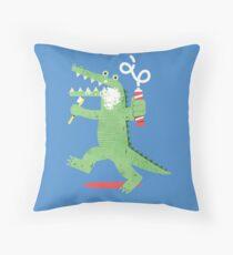 Squeaky Clean Fun Throw Pillow