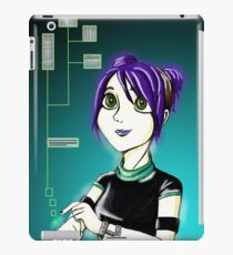 Sci-Fi Girl iPad Case/Skin