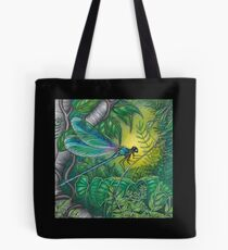 """Dragonfly Dreaming"" Tote Bag"