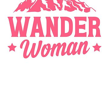 Wander Woman by rockpapershirts