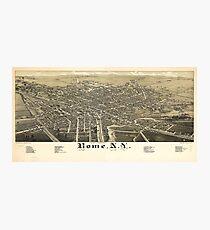 Panorama View of Rome New York (1886) Photographic Print