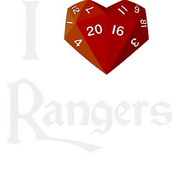 I Heart-20 Rangers by BartsGeekGifts