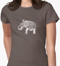 Elephant Baby Women's Fitted T-Shirt