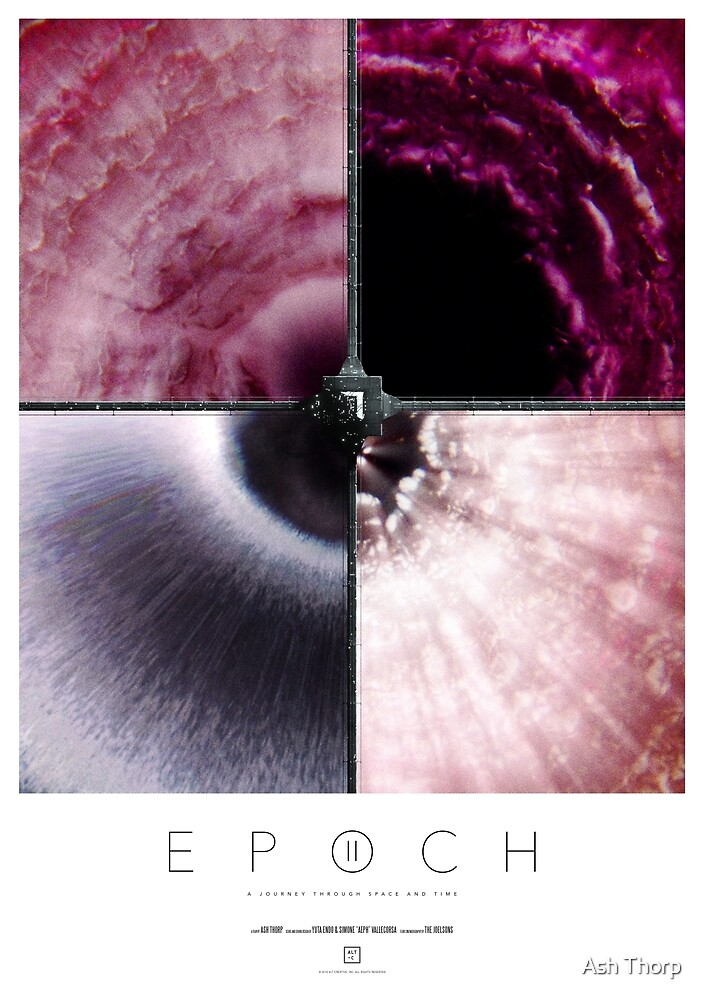EPOCH II - Event Horizon (white) by Ash Thorp