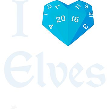 I Heart-20 Elves by BartsGeekGifts