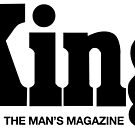 KING MAGAZINE - THE MAN'S MAGAZINE 1960S SUPERCOOL T-SHIRT by westox