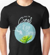 Florida Keys reef coral snorkeling souvenir tshirt Unisex T-Shirt