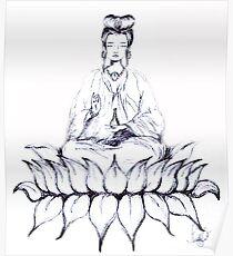 KUAN YIN - Bodhisattva of Love & Compassion Poster