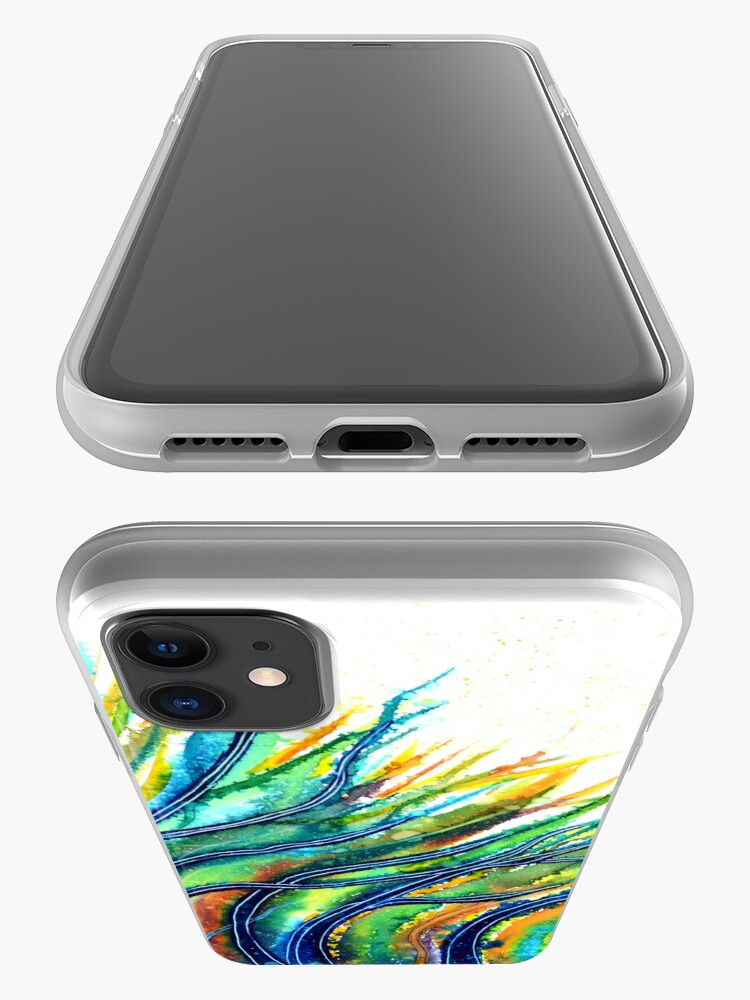 Alternate view of Rainbow Grass iPhone Case & Cover