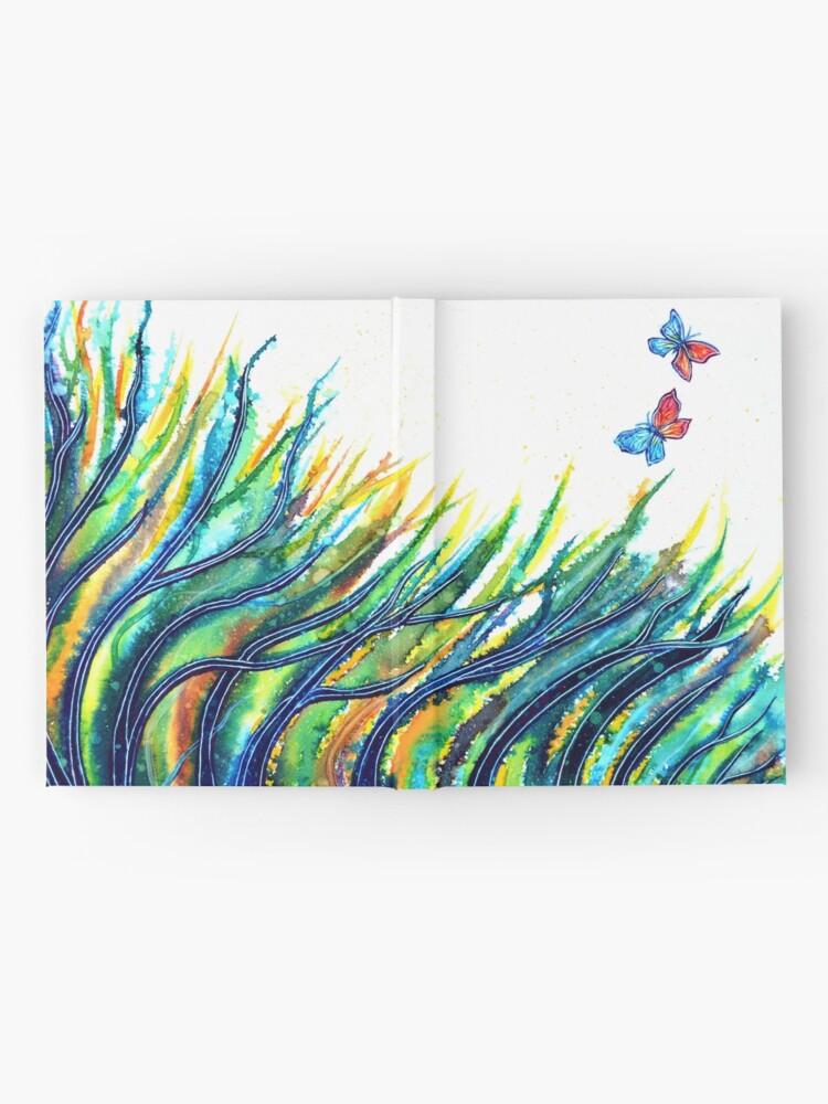 Alternate view of Rainbow Grass Hardcover Journal
