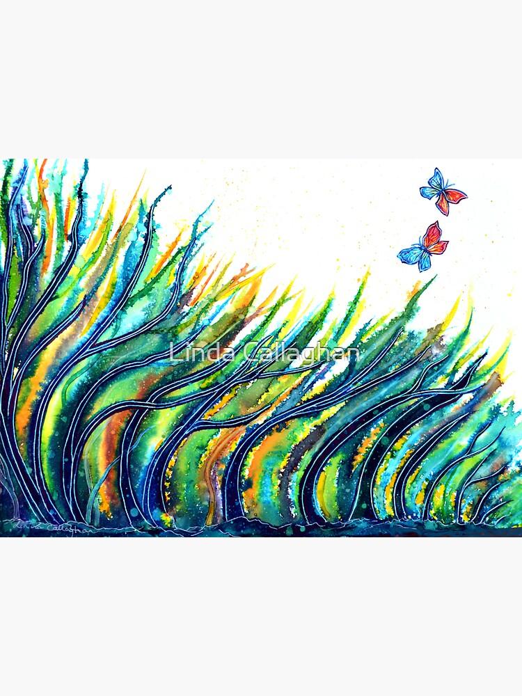 Rainbow Grass by LindArt1