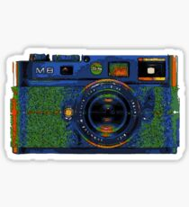 Leica M8 on acid Sticker