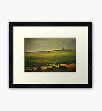 Lancashire Landscape Framed Print