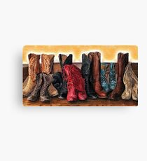 Boot Scoot Canvas Print