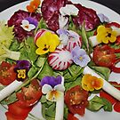 Healthy Flowery Salad by AnnDixon