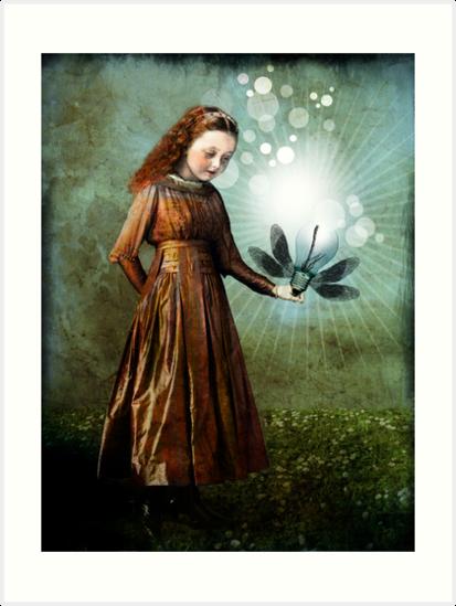 Shining light by Catrin Welz-Stein