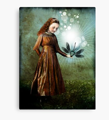 Shining light Canvas Print